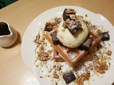 Food Lovers Only At IMM Serving Korean Fusion Items - Bountiful Choco-Brownie ($15.90)
