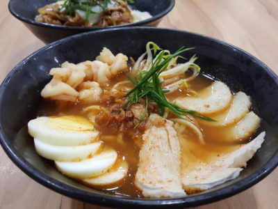 Caffe Zeppin At Midview City With An Array Of Offering With Taiwan Dishes As Signature - Prawn Noodle