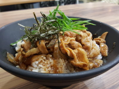 Caffe Zeppin At Midview City With An Array Of Offering With Taiwan Dishes As Signature - Pork Belly Don ($7.50)