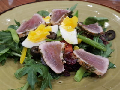 Porta Fine Food & Import Company At Park Hotel Clarke Quay, New Brunch Menu - Seared Tuna Nicoise Salad (S$15++)