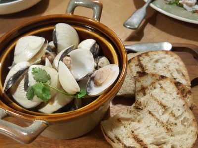 Blue Lotus Mediterranean Kitchen + Bar At Alexandra Road - Venus Clams in the Pot ($18)
