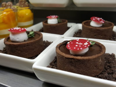 One Farrer Hotel & Spa Christmas Feasting 2017 At Escape Restaurant & Lounge - Gianduja Chocolate Tart