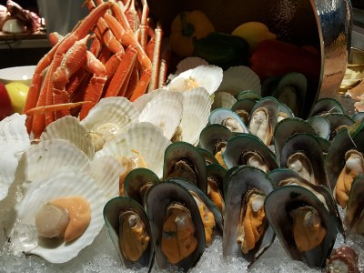 One Farrer Hotel & Spa Christmas Feasting 2017 At Escape Restaurant & Lounge - More Seafood on Ice