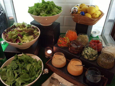 One Farrer Hotel & Spa Christmas Feasting 2017 At Escape Restaurant & Lounge - Salad Mix