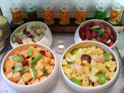 One Farrer Hotel & Spa Christmas Feasting 2017 At Escape Restaurant & Lounge - Fruit Salad