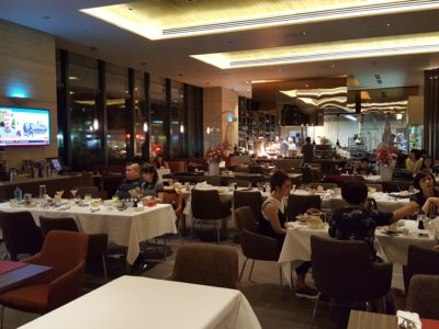 One Farrer Hotel & Spa Christmas Feasting 2017 At Escape Restaurant & Lounge - Dining Area