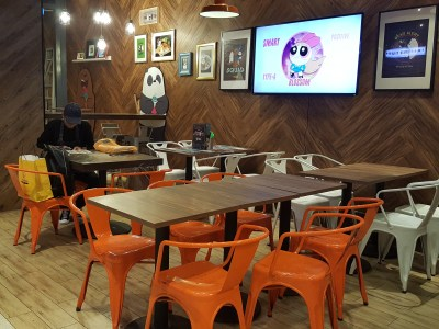 The Soup Spoon Union x Cartoon Network Cafe At Punggol Waterway Point Featuring Powerpuff Girls, Ben 10, Adventure Time and We Bare Bears - Interior, More View