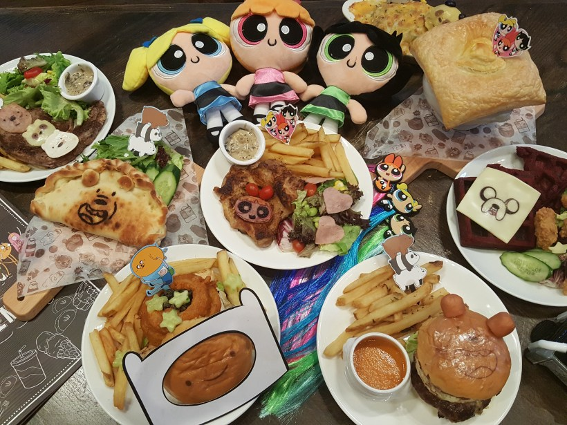 The Soup Spoon Union x Cartoon Network Cafe At Punggol Waterway Point Featuring Powerpuff Girls, Ben 10, Adventure Time and We Bare Bears - Cartoon Network Theme Cafe Food