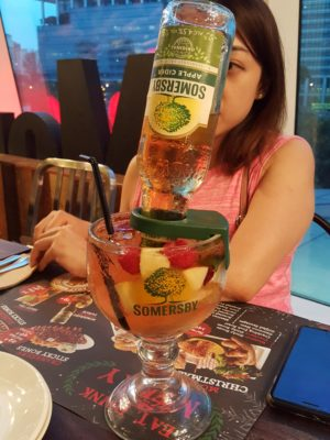 Morganfield's Sumptuous Christmas Feast 2017 At Star Vista - Somersby Summer Punch ($19.90++)