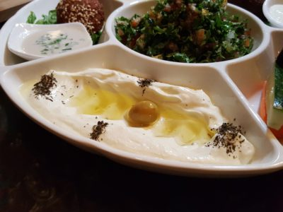 Urban Bites, Lebanese Restaurant New Chef Curated New Dishes With A Twist - Sampler Platter, labneh