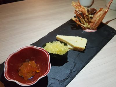 Big Sake Bar At The Concourse Skyline, A Hidden Gem, Serving 6 Sets Of Affordable Wagyu-Theme Omasake Daily - Roe Platter