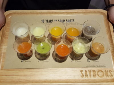 Saybons Celebrates 10th Anniversary With New Menu, New Look and Anniversary Special, Downtown Gallery - 10 Years in Shots ($10)