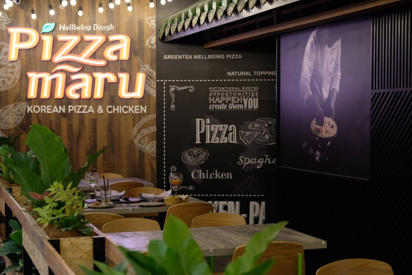 Pizza Maru Offering Healthier Crust, Black Rice and Matcha At Northpoint City - Overview
