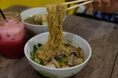 Victory Boat Noodle At Beauty World Centre Serving Authentic Thai Food - Boat Noodle Pulling