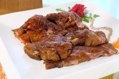 Amara Singapore Welcomes The Year Of Dog - Smoked Duck with Camphor and Tea Leaves