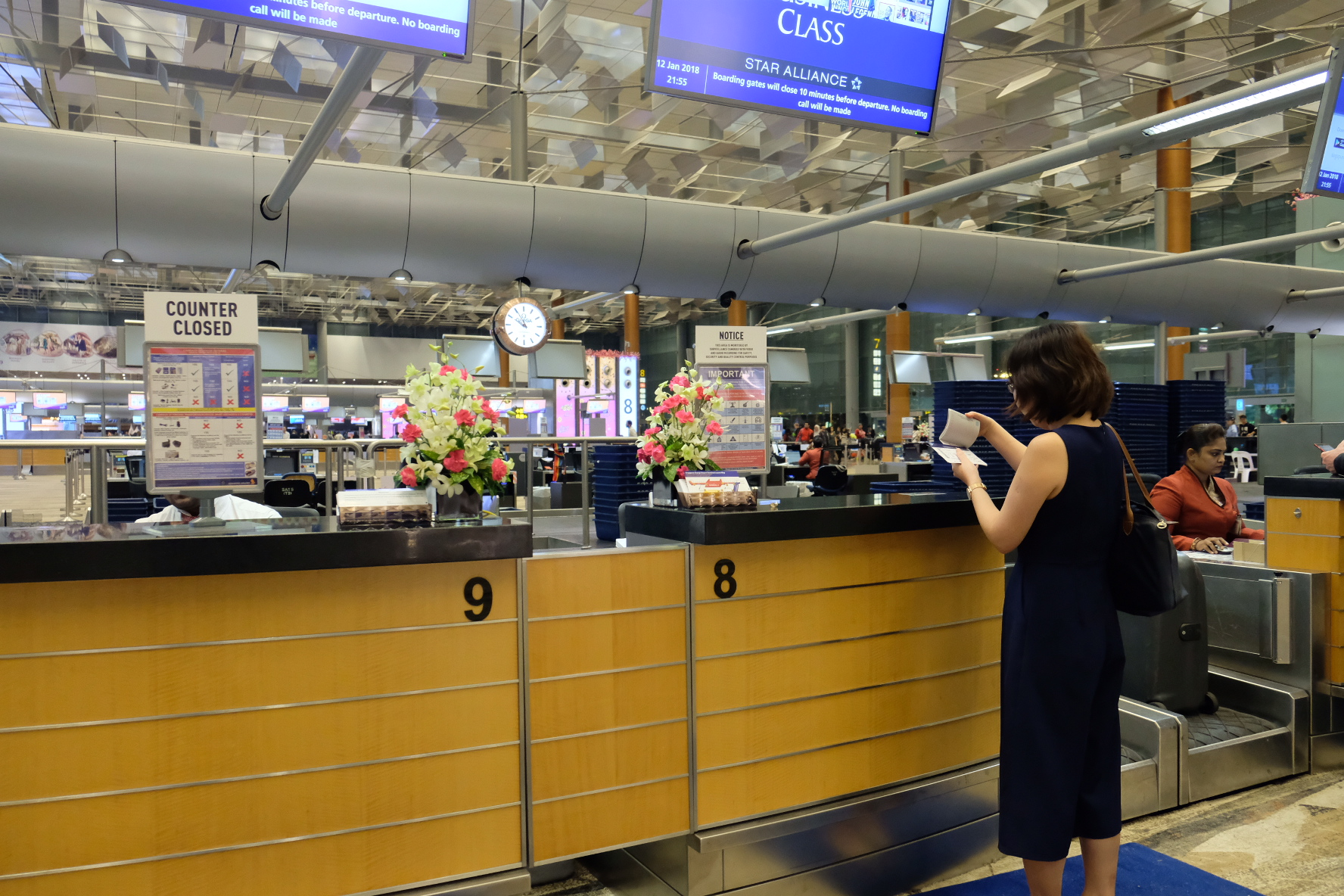Flying Singapore Airlines Business Class Sq336 From