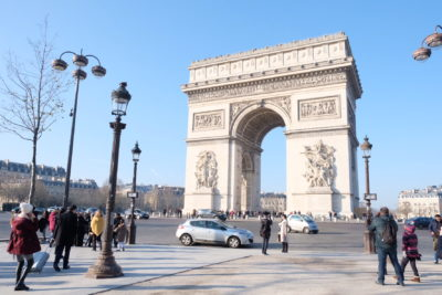 Paris Must Visit Attractions And Places Of Interests - Arc Triomphe