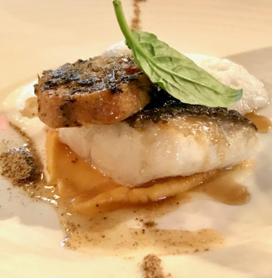 Cordigo 1530 Tequila Pairing Dinner at Audace Bar And Restaurant – Turbot, Sweet Potato, Dried Oyster and Ortie