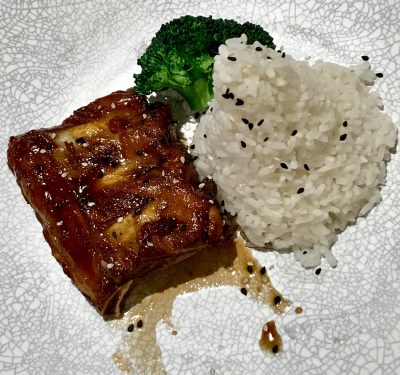Taste of Taiwan at Plaza Singapura, Typhoon Taiwanese Cafe - Char Siew-glazed Nagano Baby Ribs