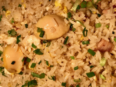 Canton Fair Buffet Dinner At The Line @ Shangri-La Hotel - Abalone Fried Rice