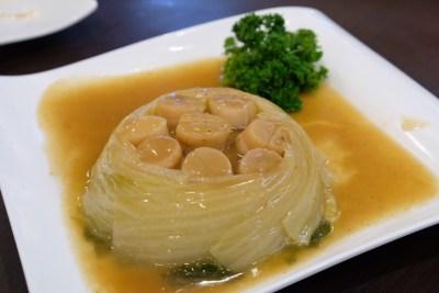 Mellben Signature Opens Throughout Chinese New Year 2018 Period - Braised Dried Japanese Scallops with Cabbage 干贝白菜