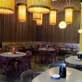 alittle tashi Offering Communal Dinning Dishes With Array Of Sauces At Tyrwhitt Road - Another View of Dining Area