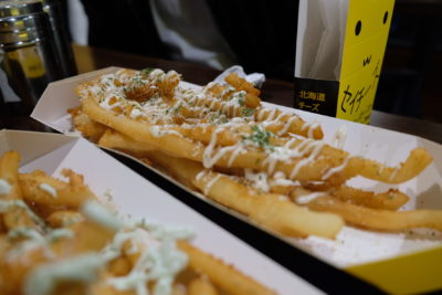 Say Chiizu Cafe Offering Cheese Tea, Matcha Cheese Toast And More Many More Snacks At Bugis+ - Super Long Fries ($5.80)