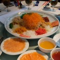 Min Jiang At One North Lunar New Year Luncheon - Prosperity Salmon Yu Sheng