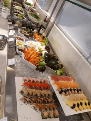 Surf and Turf Buffet @ Royale, Mercure Singapore Bugis - Cold Dishes