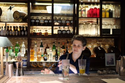 Dishoom, Old Irani Cafes Of Bombay In The Heart Of London, At King's Cross - Bar Counter