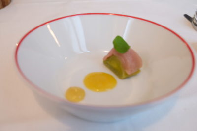 Garance Restaurant, A One Michelin Star Haute French Restaurant At 7th Arrondissement - Sushi Amuse Bouche