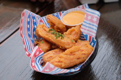 Mischief @ Esplanade Offering American Street Food With Al Fresco Dinning Style - Luncheon Meat Fries ($10)