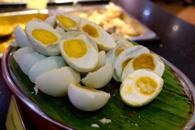 Crystal Cafe At Orchard Grand Court, Enjoy Taiwan Porridge Buffet With 30 Dishes Under $20 - Salted Eggs