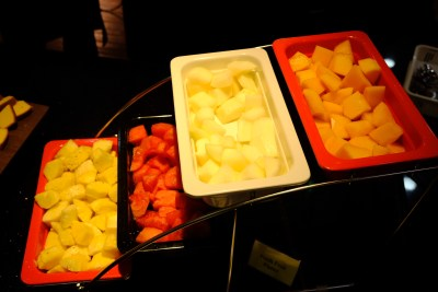 Crystal Cafe, Taiwan Porridge Buffet With Over 30 Dishes At Orchard Grand Court - Fruits