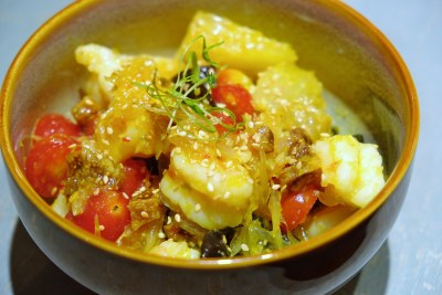 The Chinese Kitchen 厨神私房菜 At Cavan Road, Whipping Extremely Delicious Dishes - Spicy Pomelo Salad, Prawn ($12)