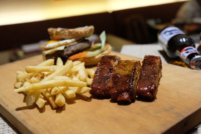 Food Street @ One Farrer Hotel & Spa 2018 With American-Style Theme - BBQ Ribs