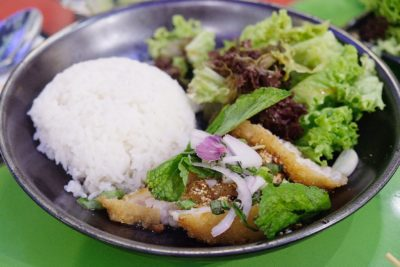 Bangkok Jam New Refreshing Menu Available At All Outlets - Deep-Fried Dory with Thai Jasmine Rice