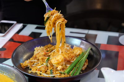Bangkok Jam New Refreshing Menu Available At All Outlets - Seafood Phad Thai