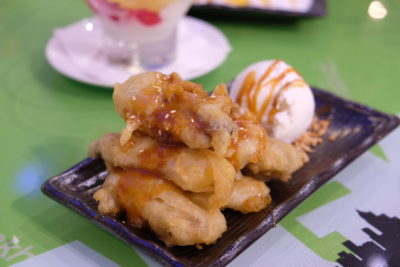 Bangkok Jam New Refreshing Menu Available At All Outlets - Banana Tempura with Hot Caramel Sauce