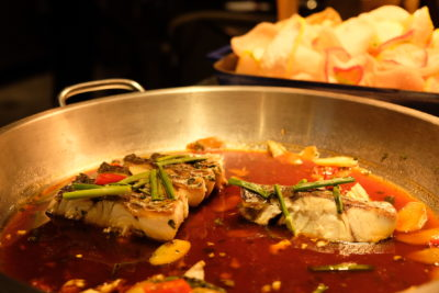 Straits Cafe @ Hotel Rendezvous Launching Favourites Of The Straits Buffet Spread - Steamed Fish