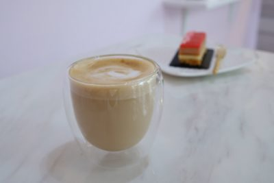 Purist Patisserie At Jalan Pelikat Specialises In French Entrement - Cappuccino ($5)