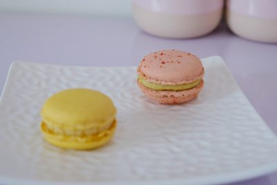 Purist Patisserie At Jalan Pelikat Specialises In French Entrement - Pistachios Macaron ($5.50 for 2)