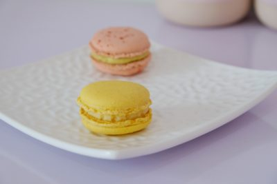 Purist Patisserie At Jalan Pelikat Specialises In French Entrement - Lemon Macaron ($5.50 for 2)