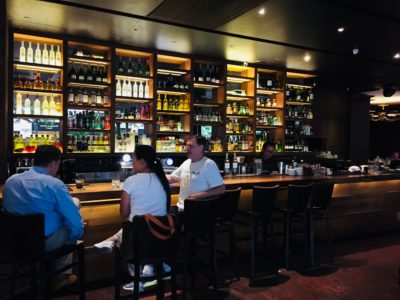 District 10 @ UE Square Filled With Pezzera's Family Favourites - Bar Counter