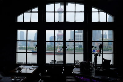 Daimon Gastrolounge, China Restaurant Week Spring 2018 - View of Orient Pearl Tower, Lujiazui