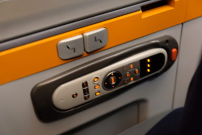 Flying Singapore Airlines Premium Economy SQ833 From Shanghai To Singapore - Control