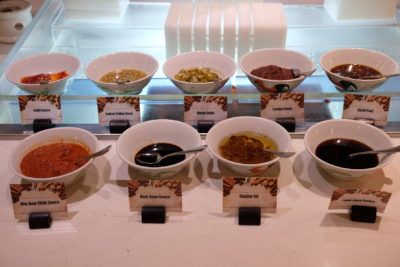 Teochew Porridge At Spice Brasserie Of Parkroyal On Kitchener Road - Condiments