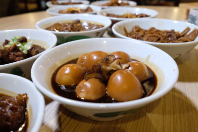 Teochew Porridge At Spice Brasserie Of Parkroyal On Kitchener Road - Braised Egg