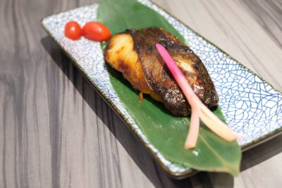 En Sushi At Prinsep Street Offering Reasonable Price Range Japanese Food - Gindara Saikyo ($18.90)