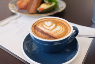 Twenty Eight Cafe At Wilkie Road, A Cafe With White Space - Cappuccino ($5.90)